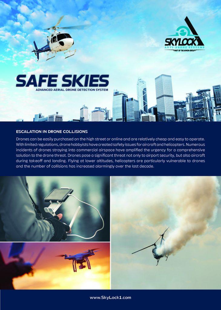 safe skies drone detection radar