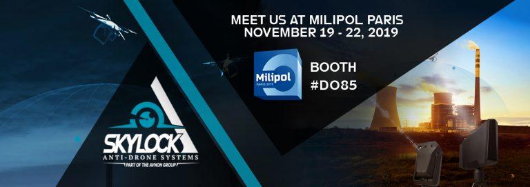 Meet Us At Milipol Paris 2019