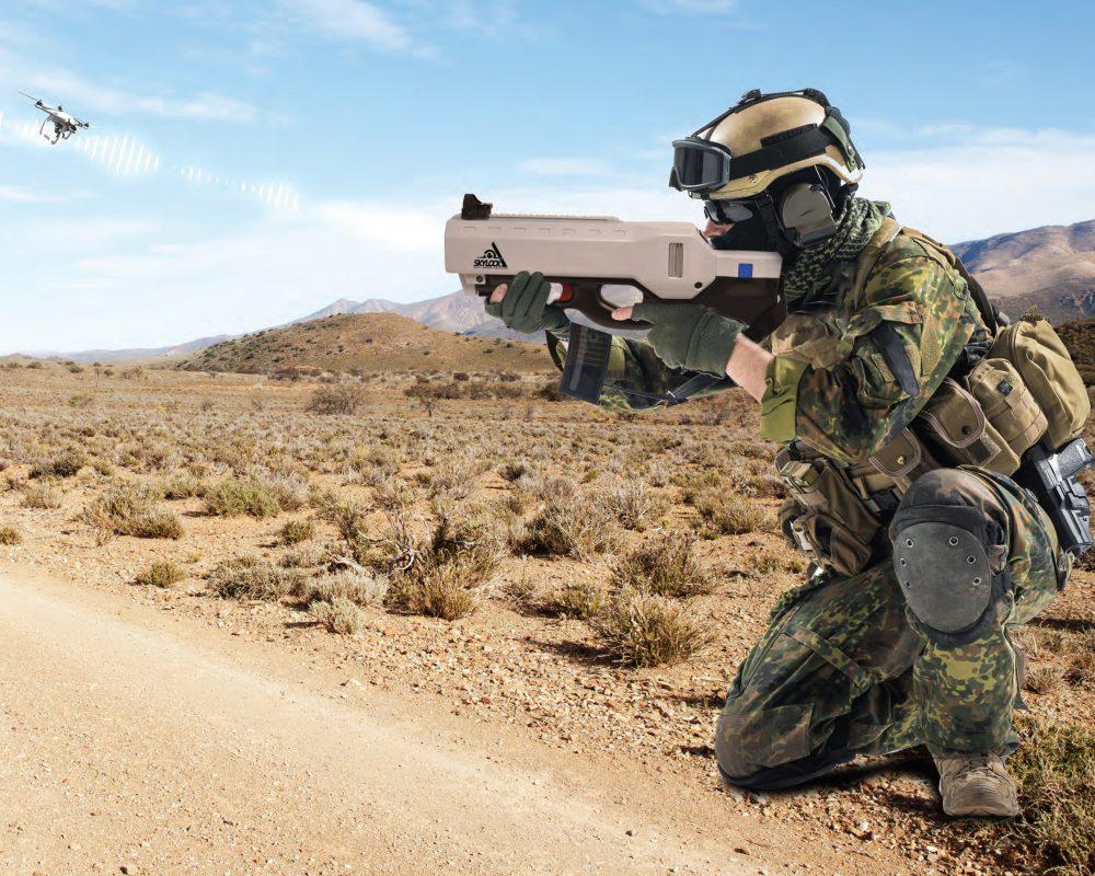 Anti Drone Jammer Gun