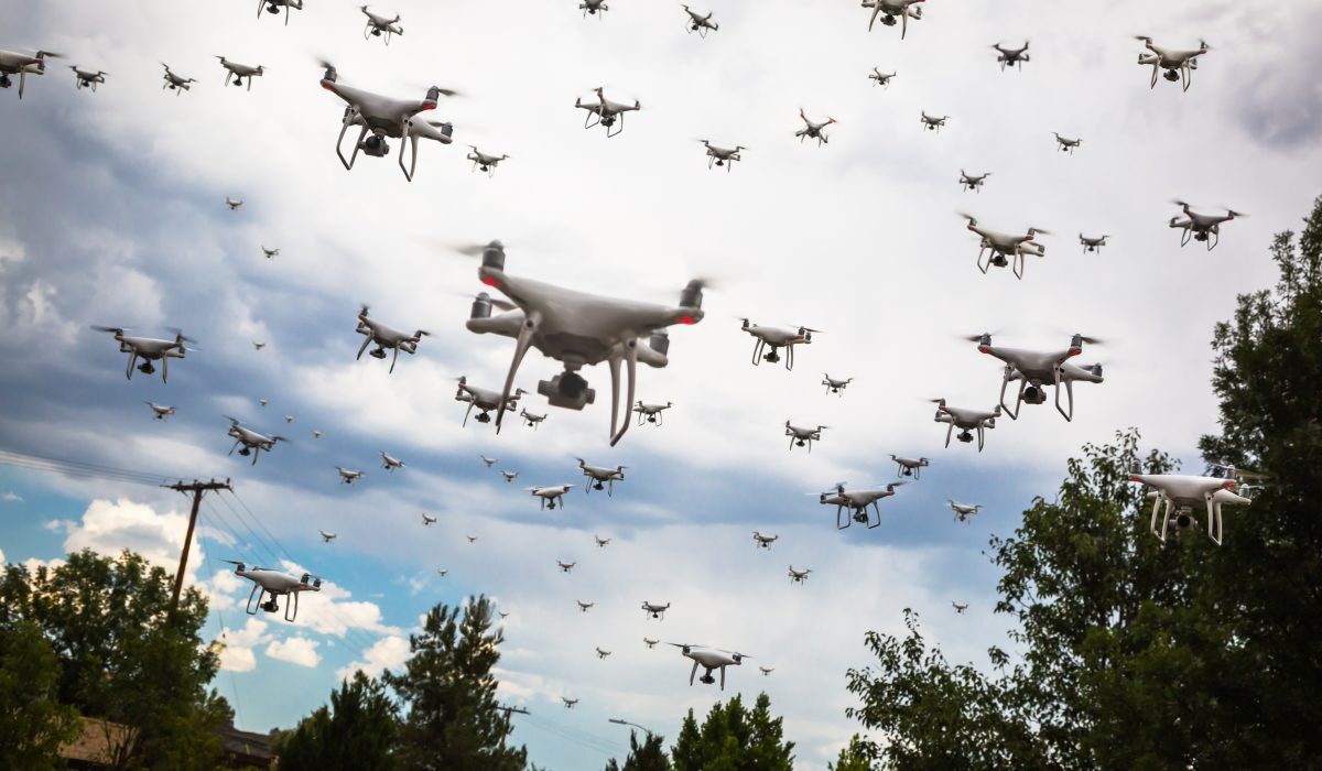 Multiple drones